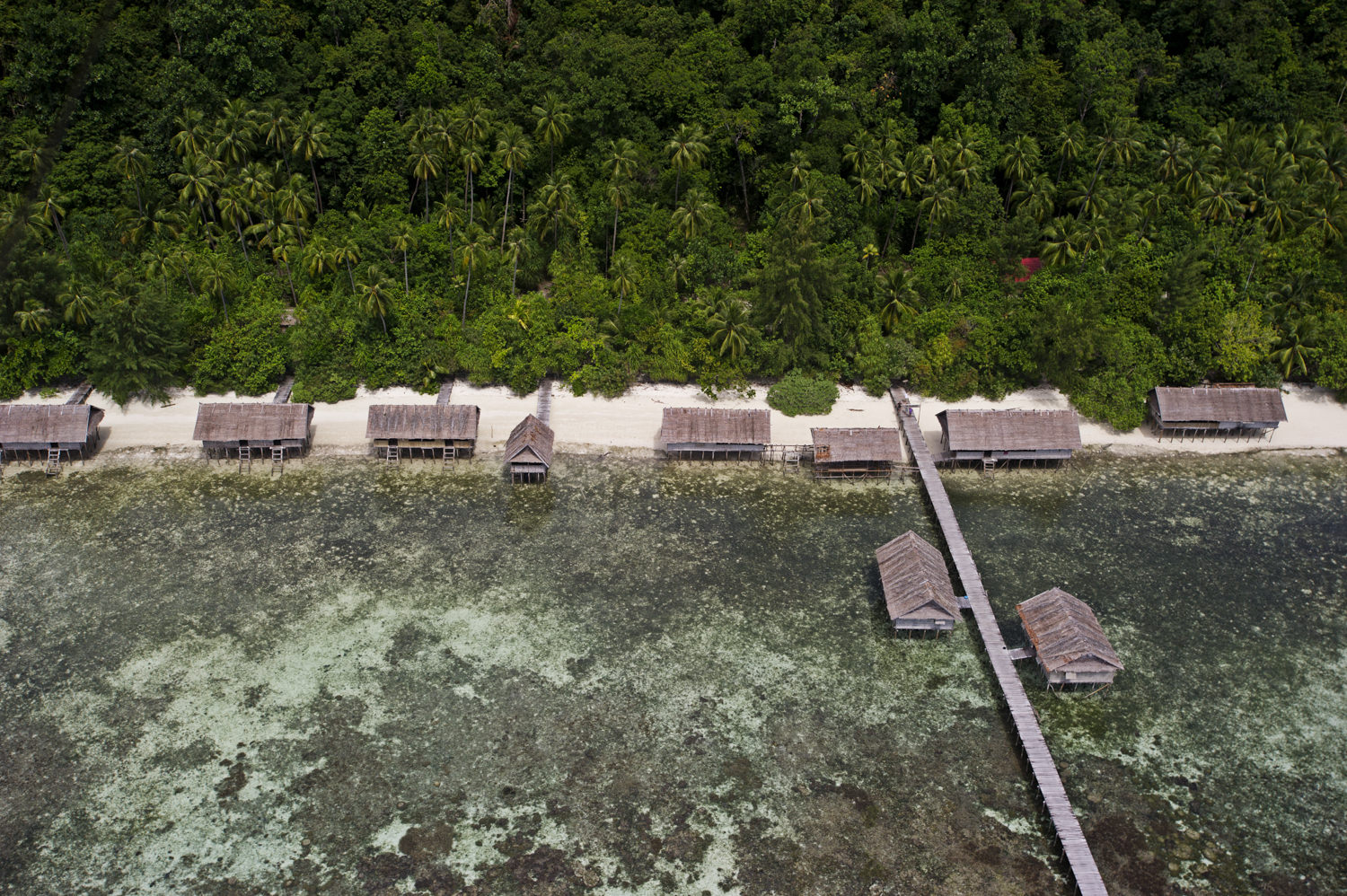 Kri Eco Resort - one of the first land based resorts in Raja Ampat