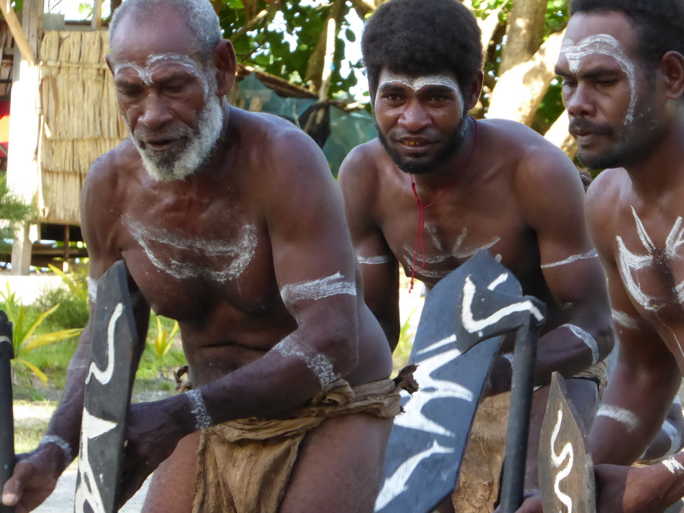 Solomon Islanders were once headhunters